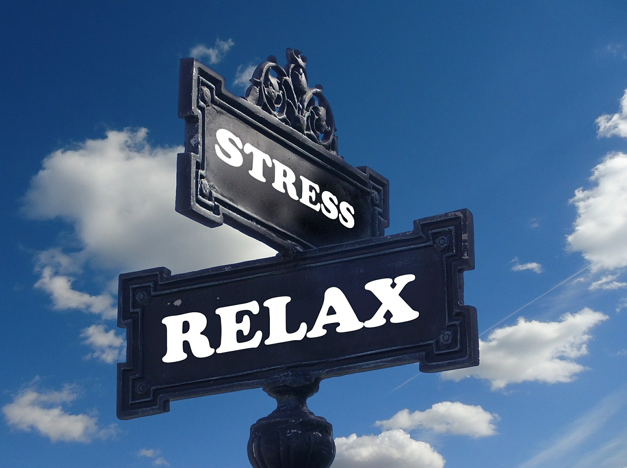 afbeelding stress , relax
