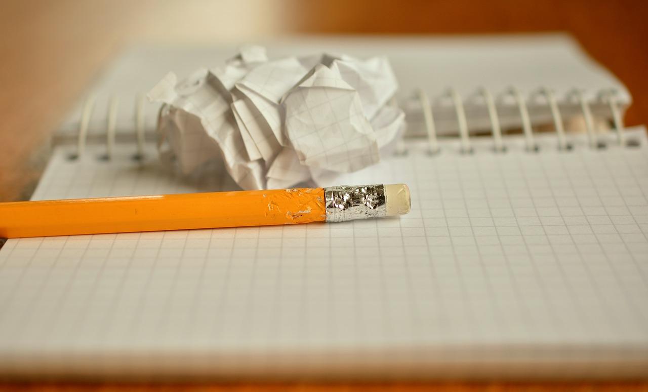 Gastblog, Ons speciale kind, potlood met schrift