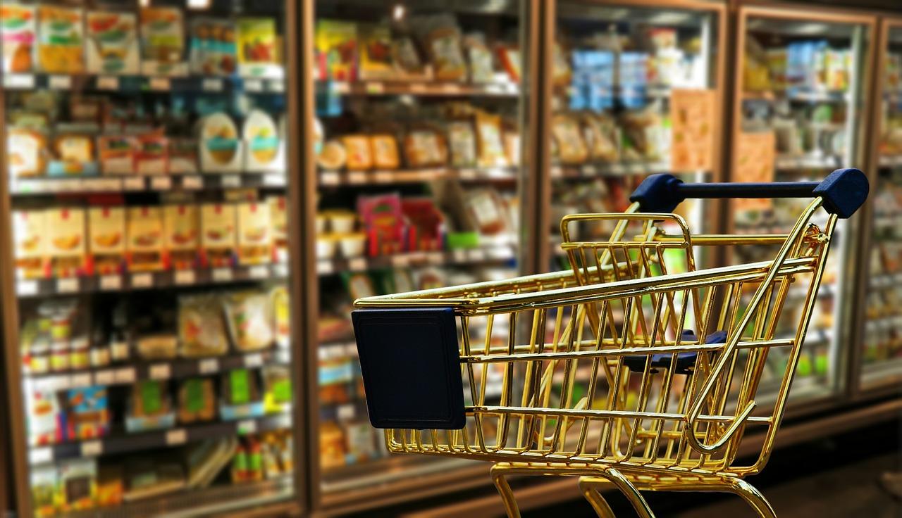 Een verbouwde supermarkt