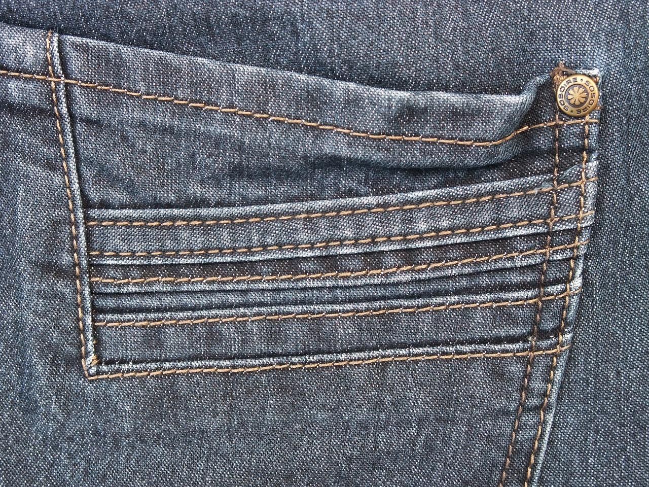 broekzak van een spijkerbroek