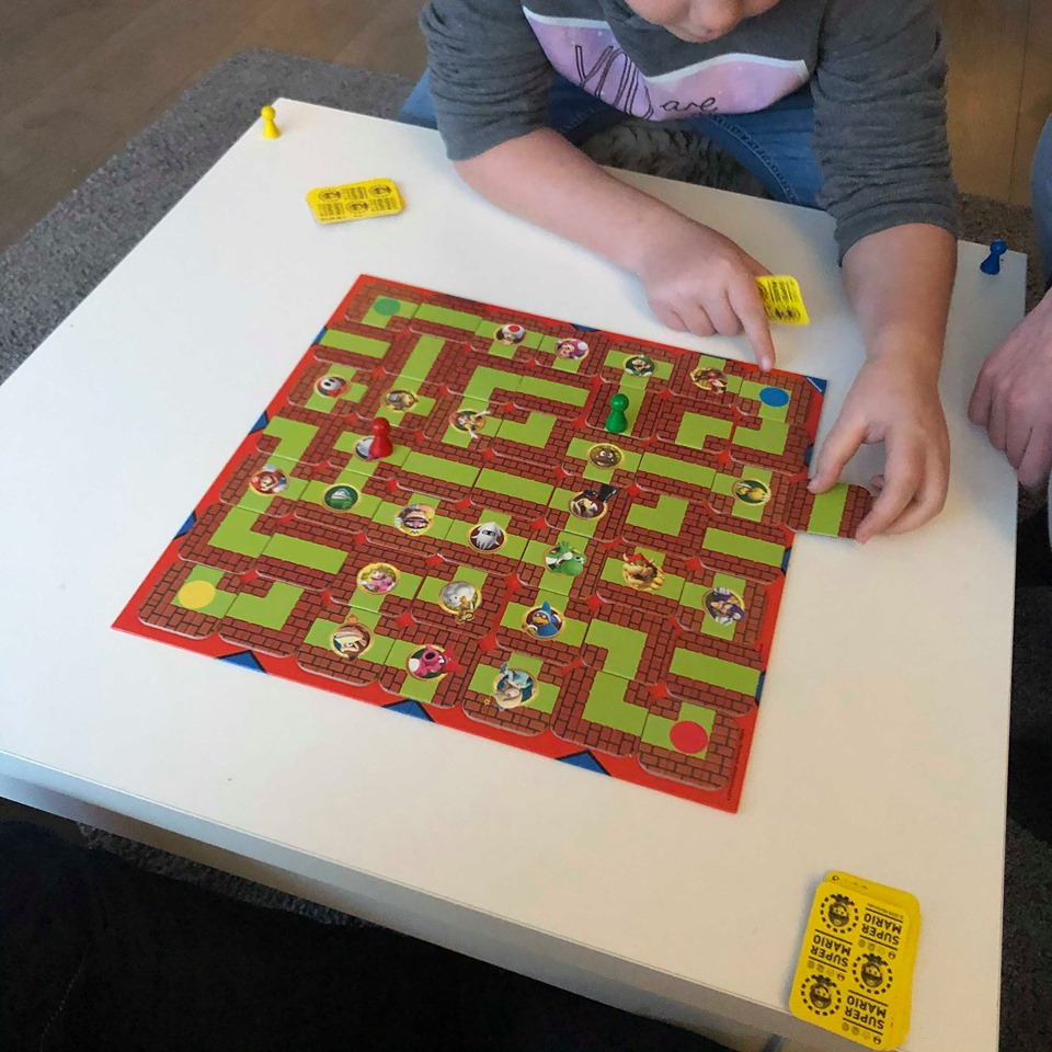 Samen spel spelen Super Mario Labyrinth