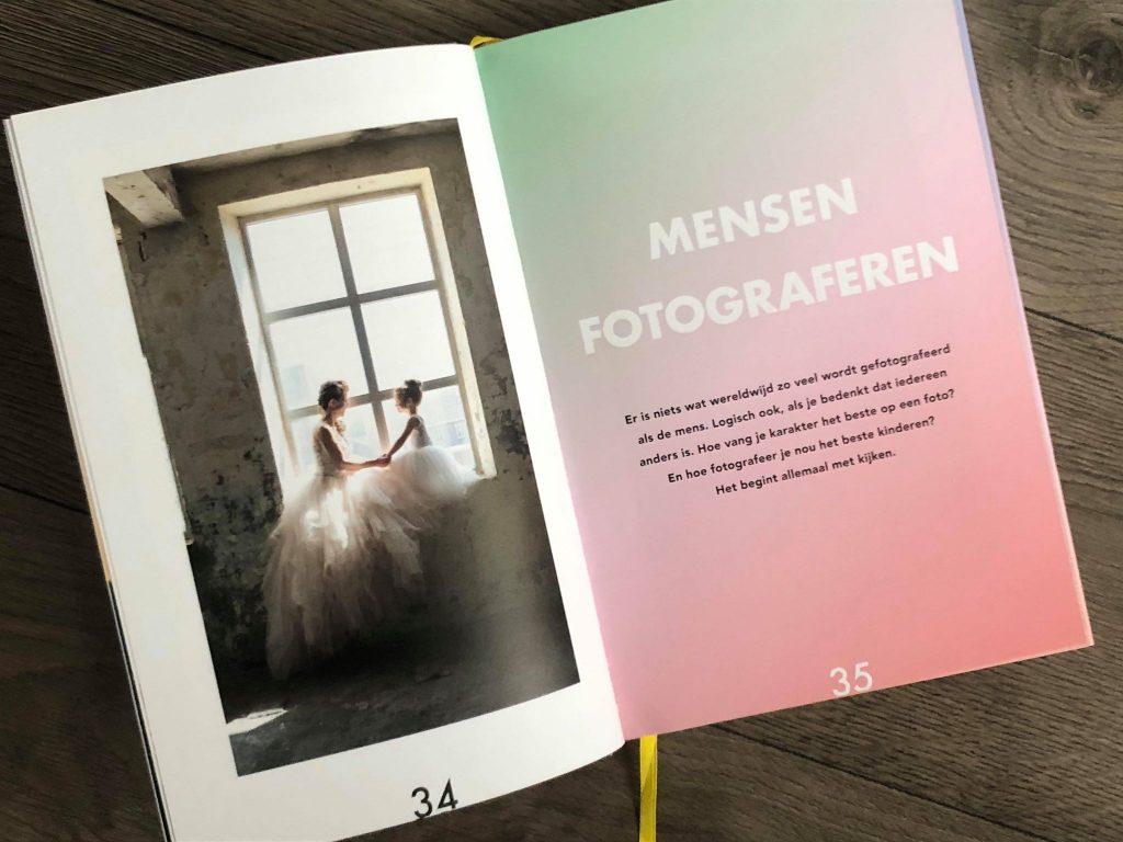 pagina uit het boek shoot